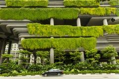 Eco budynek w Singapur Obraz Royalty Free