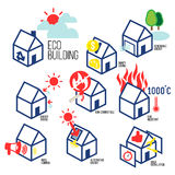 ECO BUILDING Stock Images