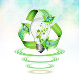 Eco bulb Royalty Free Stock Images