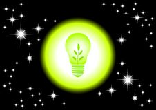 Eco bulb Stock Image