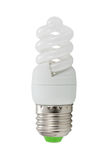 Eco bulb. Trimmed low consumption and isolated Royalty Free Stock Photos