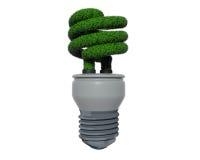 Green Grass Fluorescent Bulb Royalty Free Stock Photo