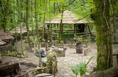 Eco-cafe Stock Photo