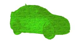 Eco car Stock Photography