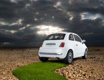 Eco car Stock Image