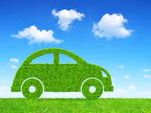 Eco car Royalty Free Stock Photography