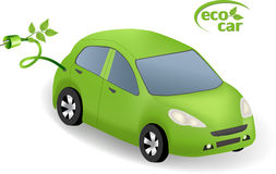 Eco Car Concept Royalty Free Stock Images