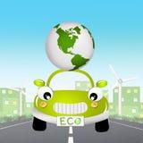 Eco car Stock Photography
