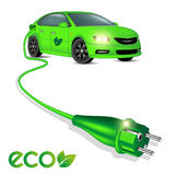 Eco car Royalty Free Stock Photos