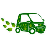 Eco car Royalty Free Stock Image