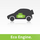 Eco Car. Royalty Free Stock Photography