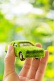 Eco car icon concept Royalty Free Stock Image