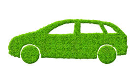 Eco car Stock Photo