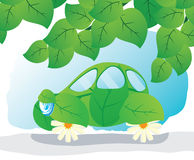 Eco-car. Stock Image