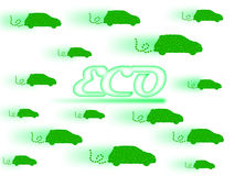 Eco car Royalty Free Stock Photo