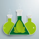 Eco Chemistry Infographic Stock Photos