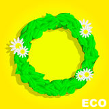 Eco Circle. Banner. Summer Royalty Free Stock Images