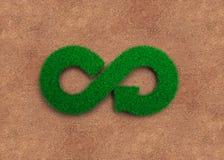 ECO and circular economy concept stock photos