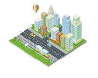 Eco City Design. Modern Architecture. Stock Image