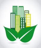 Eco city Royalty Free Stock Photography