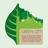 Eco city design vector illustration eps10 graphic Stock Photos