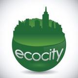 Eco city design vector illustration eps10 graphic Stock Photos