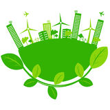 ECO city Royalty Free Stock Images