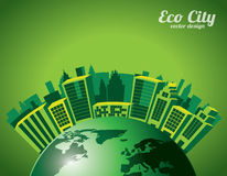Eco city Royalty Free Stock Image
