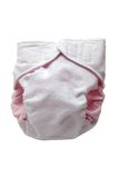 Eco cloth diaper Royalty Free Stock Photo