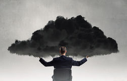 Eco or cloud computing Royalty Free Stock Images