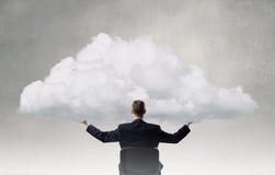 Eco or cloud computing Royalty Free Stock Photos