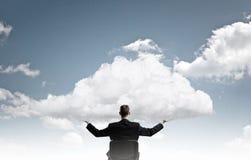 Eco or cloud computing Stock Image
