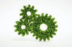 Eco cogwheel concept Stock Photo
