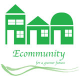 Eco community logo Stock Images
