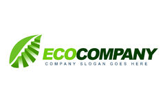 Eco Company Logo Royalty Free Stock Image