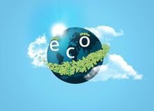 Eco concept Royalty Free Stock Photography