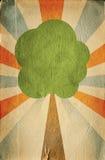 Eco concept: paper saving, saving trees Stock Image