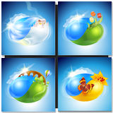 Eco concept planet nature Royalty Free Stock Photography