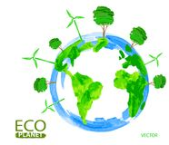 Eco concept planet Stock Photo