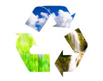Eco conceptual background Stock Photography