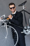 Eco-conscious transport. Stock Photography