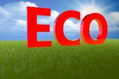 Eco 3D стоковое фото