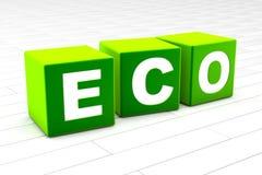 Eco vector illustration