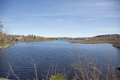 Eco del lago, Nova Scotia Imágenes de archivo libres de regalías
