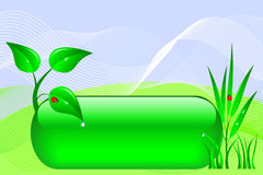 Eco design banner. Royalty Free Stock Images