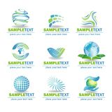 Eco Design Elements Stock Images