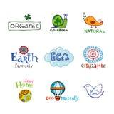 Eco design elements. Stock Image