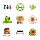 Eco design elements. Royalty Free Stock Photo