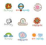 Eco design elements. Stock Photo