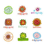 Eco design elements. Royalty Free Stock Photos